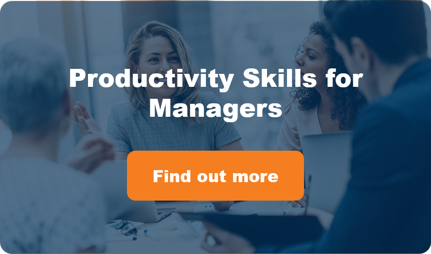 Productivity Skills for Managers Button
